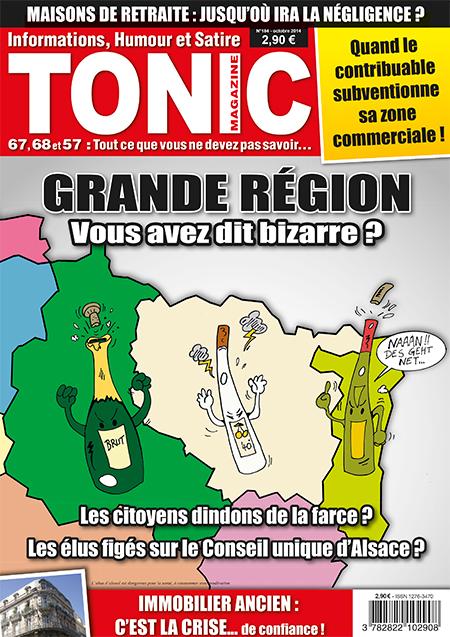 Tonic 184 - Octobre 2014