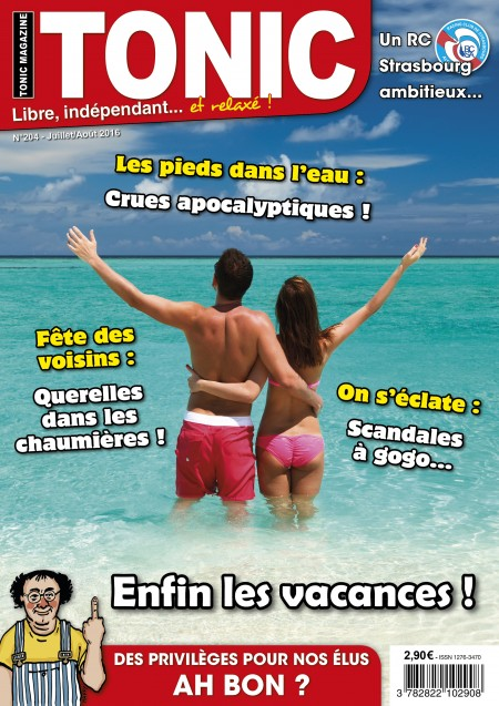 Magazine Tonic Magazine Informations Humour Et Satire 67 68
